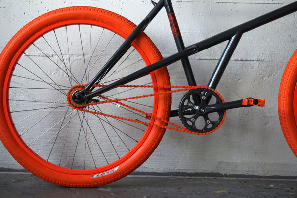 Josh Bechtel's Retro-Direct Drive. One Chain, Two Directions, Two Speeds, No Pulleys, No Derailleurs.